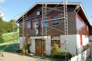 Schilderwerk in Huizen